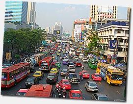 El Desconcertante tráfico de la ciudad