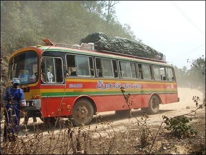 Autobús a Phongsali