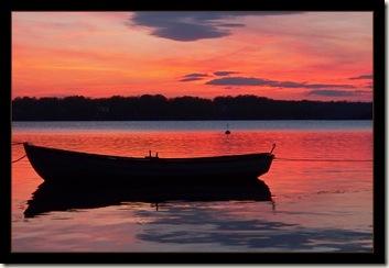 karlskrona sunset boat