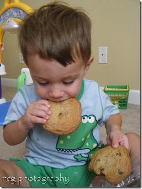 mmm latas cookies are yummy