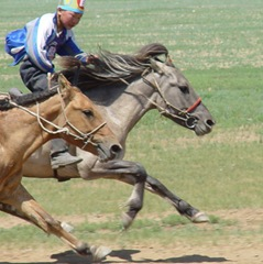 Child Horse Racer