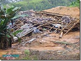 Casa Destruída em Itajaí - By multimidiaabr