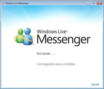 Windows Live Messenger 2011 - Iniciando