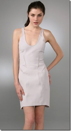 Helmut LangMesh Cutout Tank Dress 1