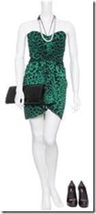 Dolce & Gabbana Drape Front Leopard Print Bustier Dress 4
