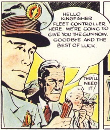 Dan Dare from Eagle Issue 1