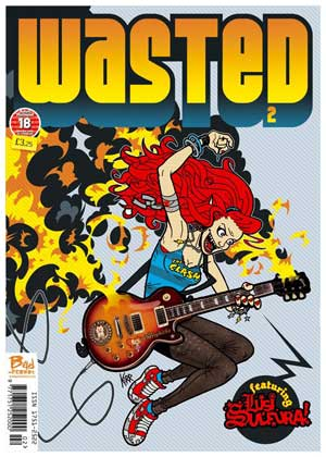 comic wasted2w of Bad Press' adult humour