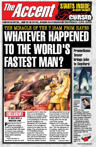 Whatever Happened To The World's Fastest Man cover