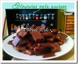brownies para amigos