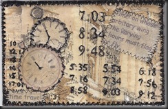 Time Fabric Postcard