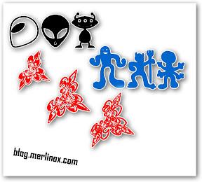 I font decorativi: ottime clipart