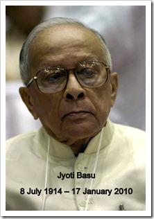 Comrade Jyoti Basu