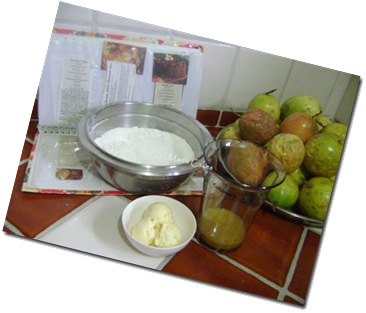 Ingredientes to Make Scones