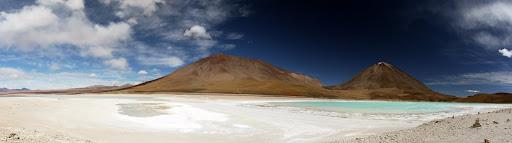 Laguna Verde with Volcan Licancabur (5950m) behind
