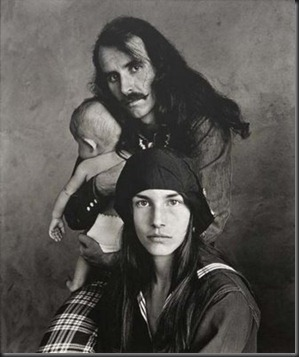 Irving Penn, Hippie Family, San Francisco, 1967