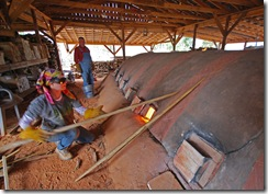 Sand Kiln Firing 014