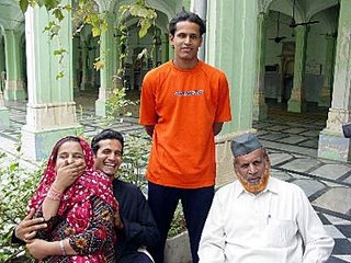 Irfan Pathan's family