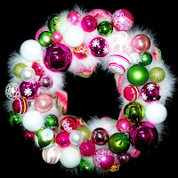 Decorative Christmas Ornament Wreaths & Centerpieces