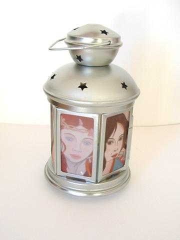lanterne portraits de femmes petit modèle