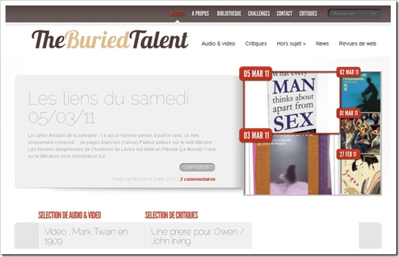 the buried talent