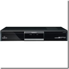 Humax HD Set top box recorder