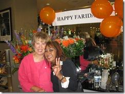 Farida and me