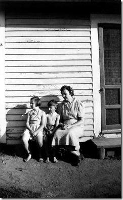 Arlene, Norman Alleman & Elsie Mannel