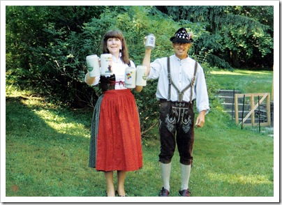 Kay and Robert Mannel - German Outfits - Corning - 1988