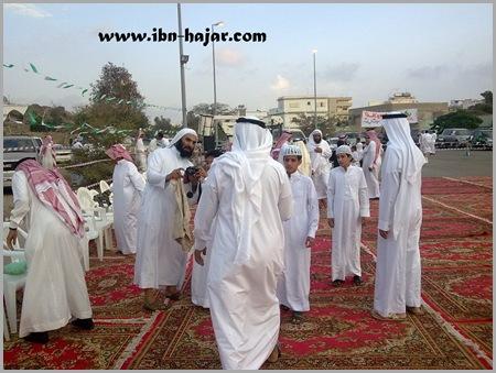 خالد بن عمر الفقيه وبعض من الحضور