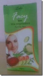 Facy with Mix Vegetables-face pack for oily skin