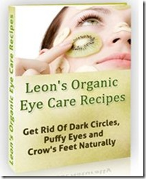 Organic Eye Care Recipes