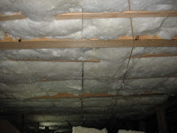 Joists 4x8 at 48 on center phillip norman attic access for R30 insulation dimensions