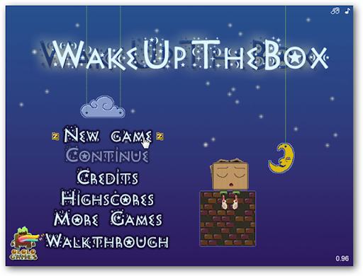разбуди мистера коробку