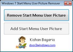 windows 7 start menu remover
