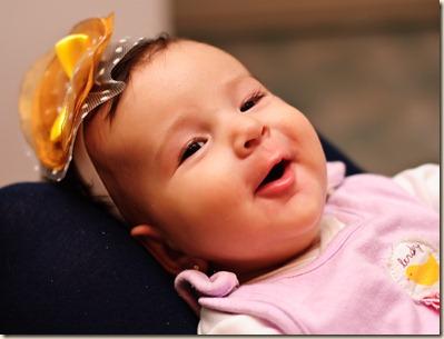 model-yellow-brown-flower-happy