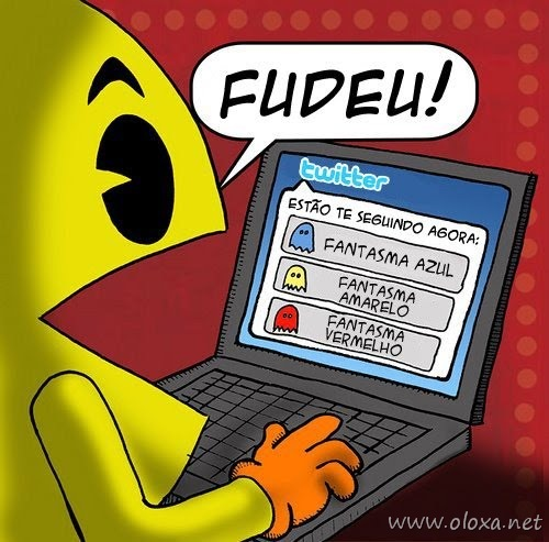 Pac man no twitter