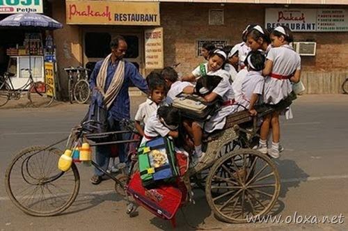 Transporte escolar India - 05