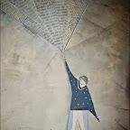 L'UOMO PRESO DALLE PAROLEtecnica mista su carta25 cm x 32,5 cm