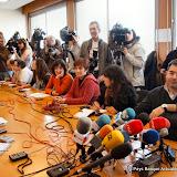 De nombreux journalistes présents