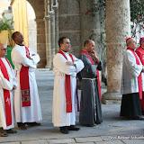 Le Cardinal et le clergé de La Havane