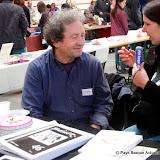 Lucien Etxezaharreta des éditions Maiatz et Oihana Larzabal de France Bleu Pays Basque