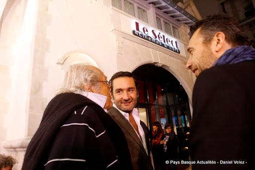 Georges Lautner, Gilles Lellouche et le réalisateur Fred Cavayé