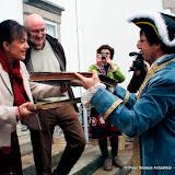 La présidente du Biltzar reçoit les registres des mains de Dominique Joseph Garat