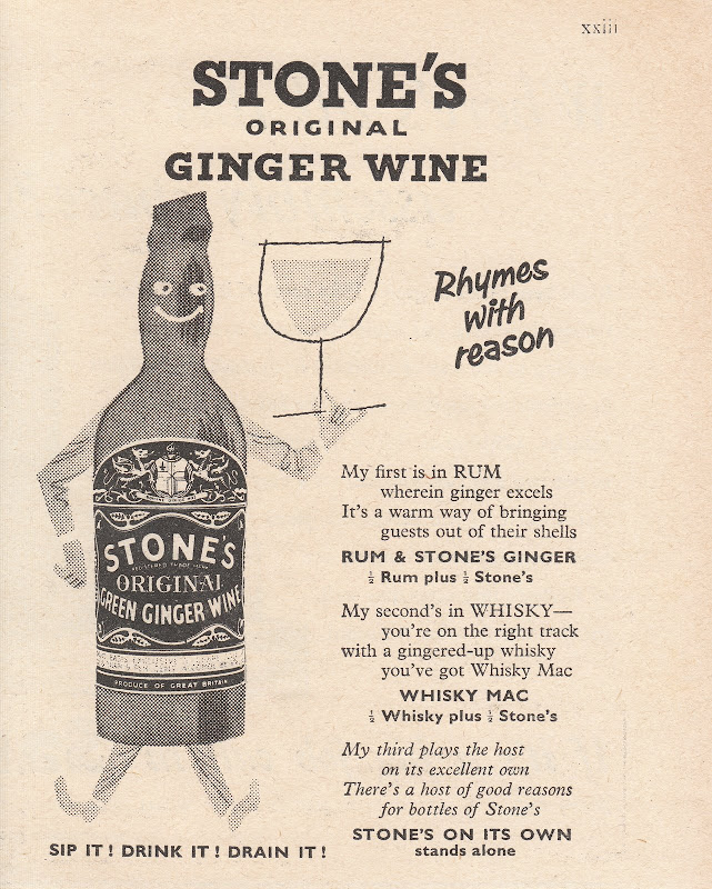 gingerwine com gingerwine advert rhymes with reason