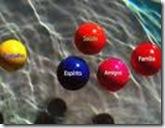 Cinco bolas