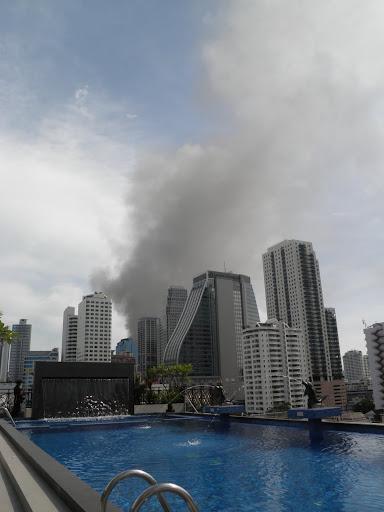 Bangkok on fire