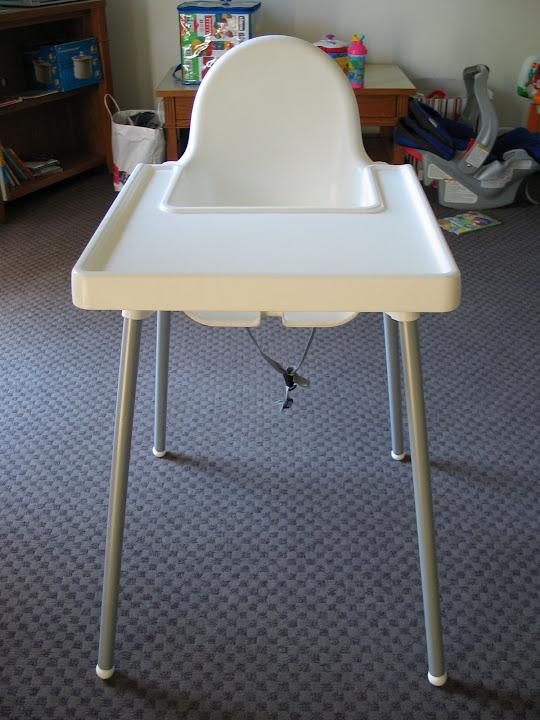 review ikea high chair antilop. Black Bedroom Furniture Sets. Home Design Ideas