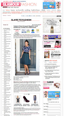 frills and ruffles feature on Glamour.com