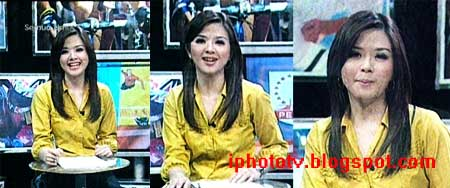 presenter cantik franda