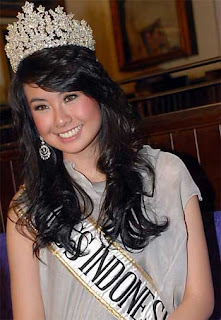 sandra angelina miss indonesia 2008